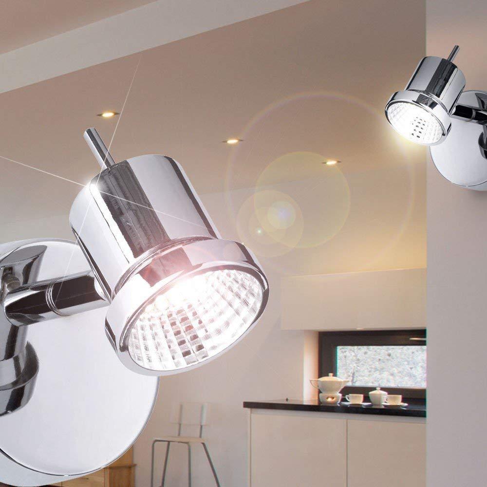 5 W 1-flammig Durchmesser 8 cm nickel matt 450301640000 1 x LED Serie Hoorn Action Wandleuchte Kelvin 3000 Lumen 400