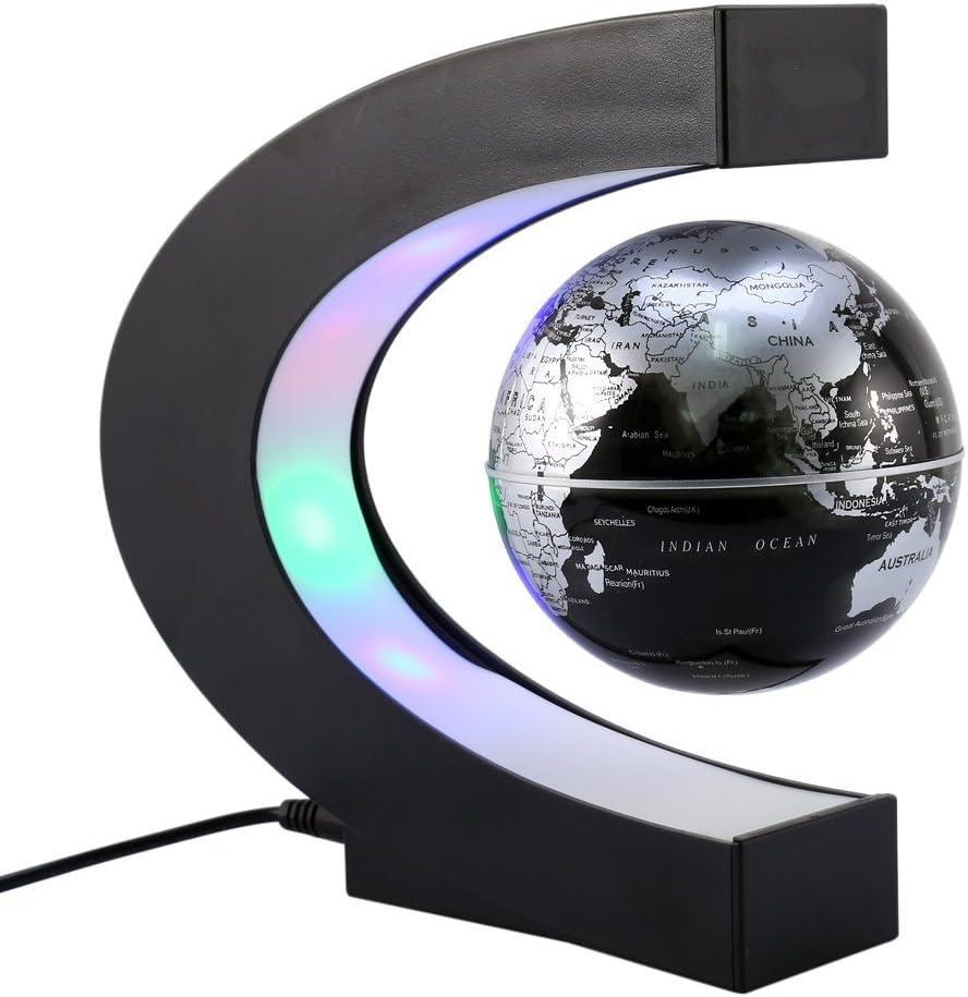 Absender beleuchteter Weltkugel///2 in 1 Globus Erde und Sternbilder Eingebaute LED f/ür beleuchtete Nachtansicht///8-Zoll-Bildungsweltkugel f/ür Geschenk-Home-Office-Schreibtischdekoration