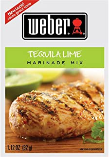 Weber Grill Tequila Lime Marinade Mix 1 12 Ounce Pack Of 6