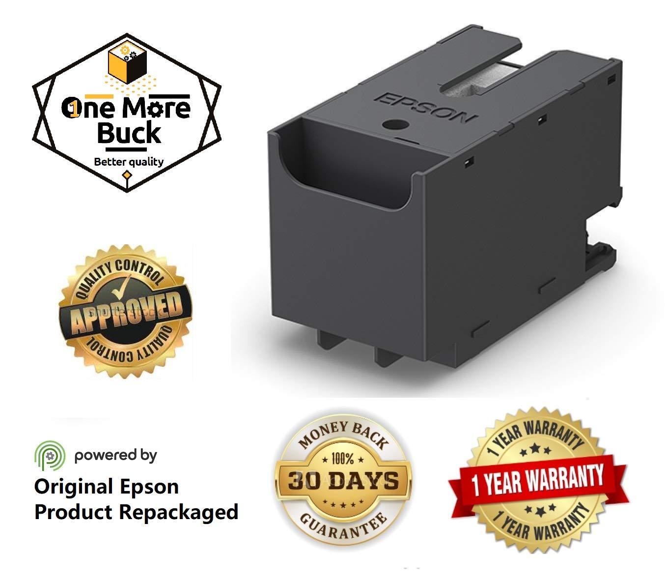 Amazon.com: OneMoreBuck - Caja de mantenimiento de tinta ...