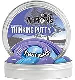【 温めると色の変化!のある シリコン製パティ 】 Crazy Aaron's Putty World シンキングパティ ハイパーカラー シリーズ EU安全規格適合 内容量90g レギュラーサイズ Made in USA 日本正規代理店品 【 トワイライト 】 TW020