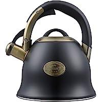 s-p Tea Kettle -2.2 Quart Tea Kettles Stovetop Whistling Teapot Stainless Steel Tea Pots for Stove Top Whistle Tea Pot…