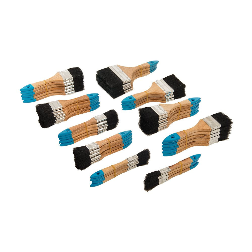 Silverline 633546 Tradesmans Disposable Utility Brushes 50 Piece Set SLTL4