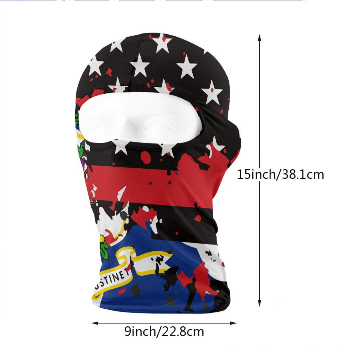 WD rain Connecticut Thin Red Line Flag USA Balaclava Face Mask Headwear  Helmet Liner Gear Full Face Mask Hood Motorcycle Mask at Amazon Men s  Clothing store ... 8c1ca569f
