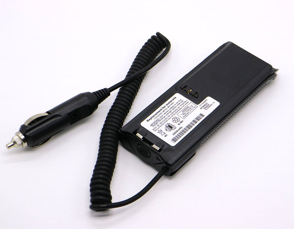 Car Battery Emulator Power Adaptor for Motorola XTS3000 XTS3500 XTS5000 Radio