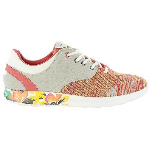 Zapatillas Deporte de Mujer y Niña PEPE JEANS PGS30291 Amanda 169 Light Coral: Amazon.es: Zapatos y complementos