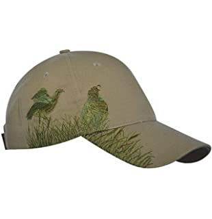 KC Caps Men Hunting Hat Embroidered Baseball Cap Adjustable Back with Closure,Olive Quail