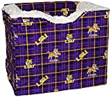 Pampered Pets LSU-Louisiana State University Collection Pet Car Seat with The Wedge, Small