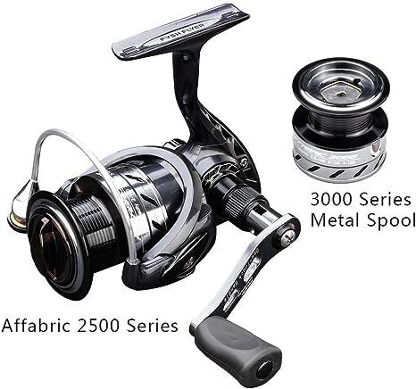 FyshFlyer affabric 2500 Serie pesca reel-smooth y ligero Spinning ...
