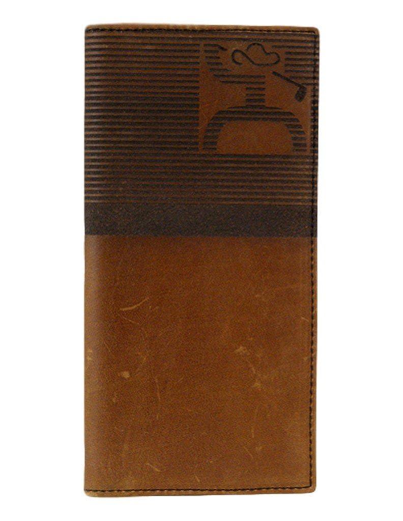 00b5efa3846d Hooey Brown Golf Wallet w/ Striped Logo (1706137W1)