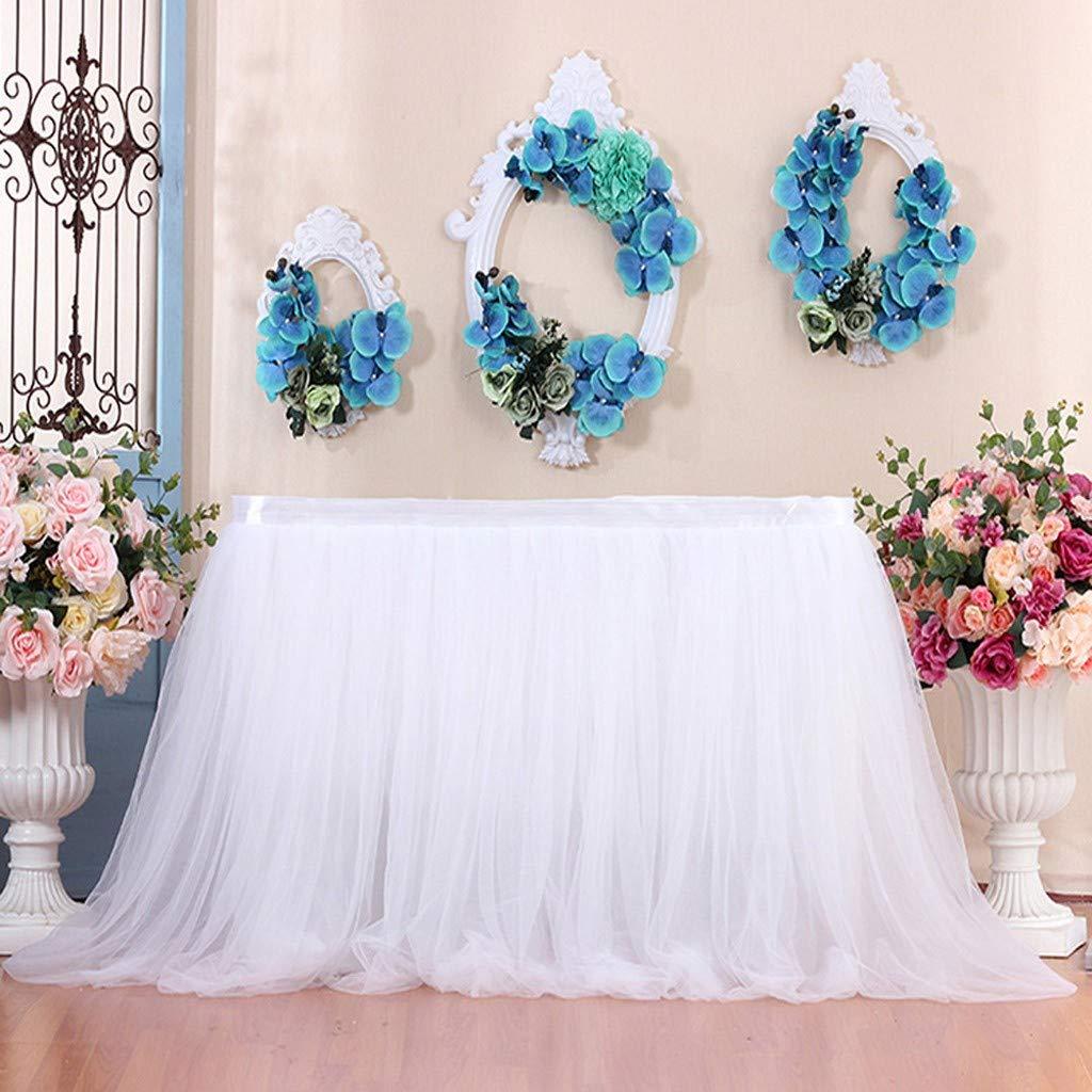 cumplea/ños etc. azul boda fiesta de Navidad Mantel de gasa