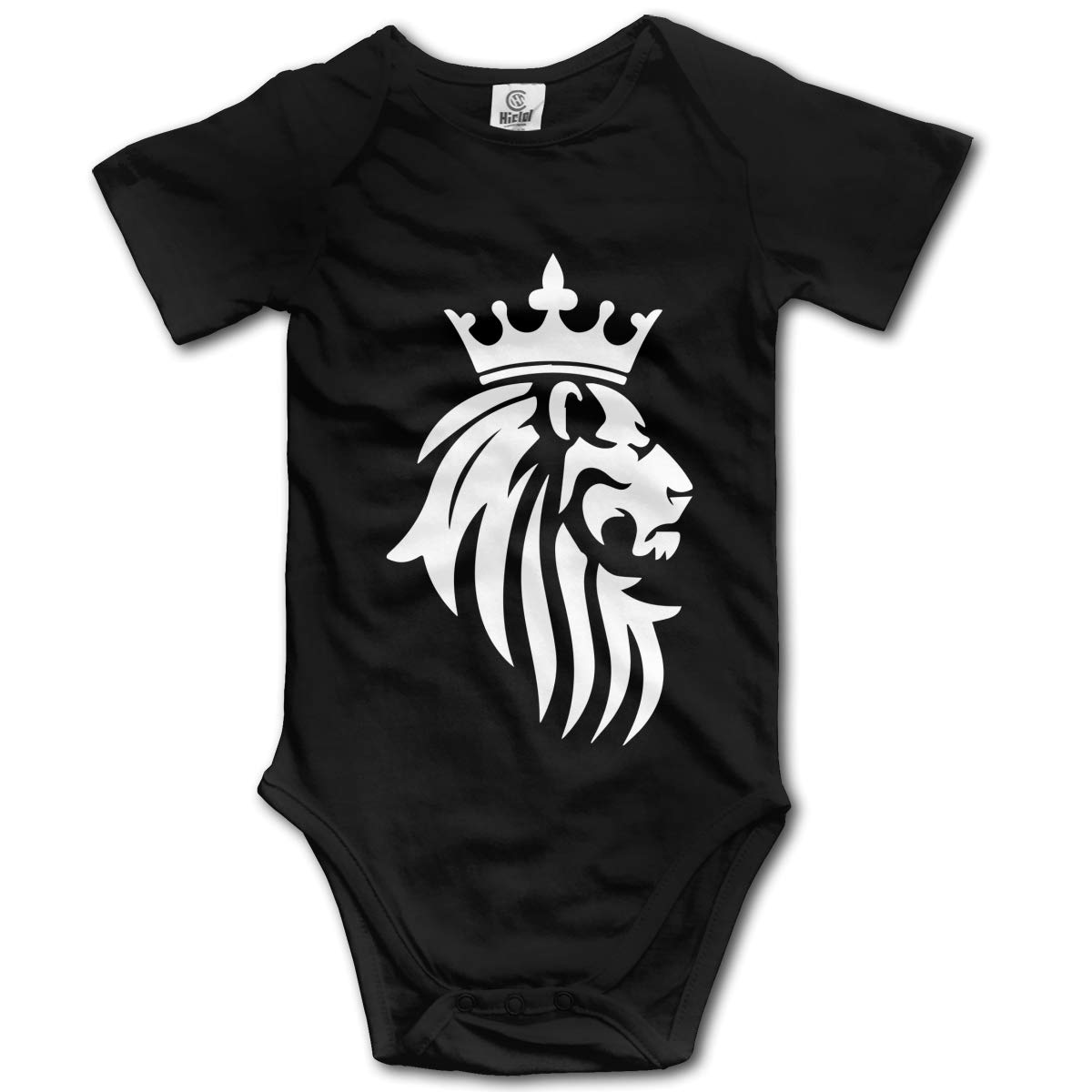 J122 Baby Boys Lion Short Sleeve Climbing Clothes Romper Jumpsuit Suit 6-24 Months