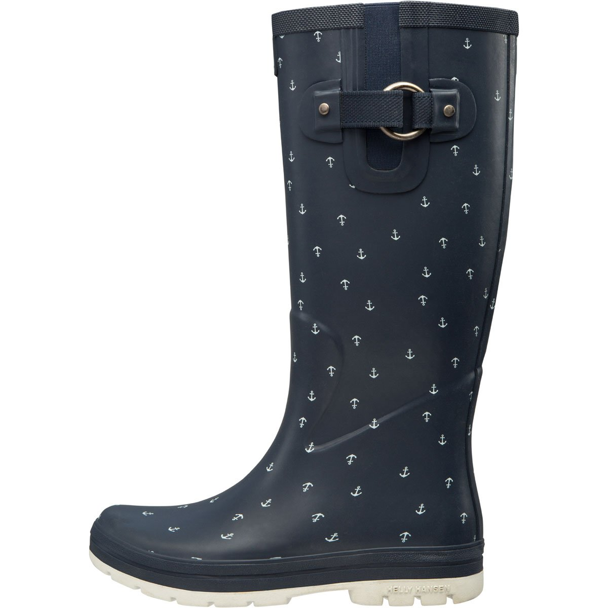 Helly Hansen Women's Veierland 2 Graphic Rain Boot B073RPJW4F 8|Evening Blue/Off White/Ash Grey (Matte)