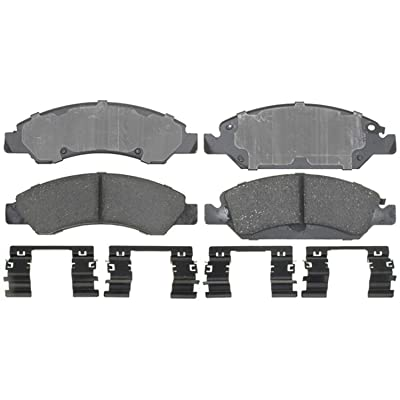 ACDelco 17D1367CH Professional Ceramic Front Disc Brake Pad Set: Automotive
