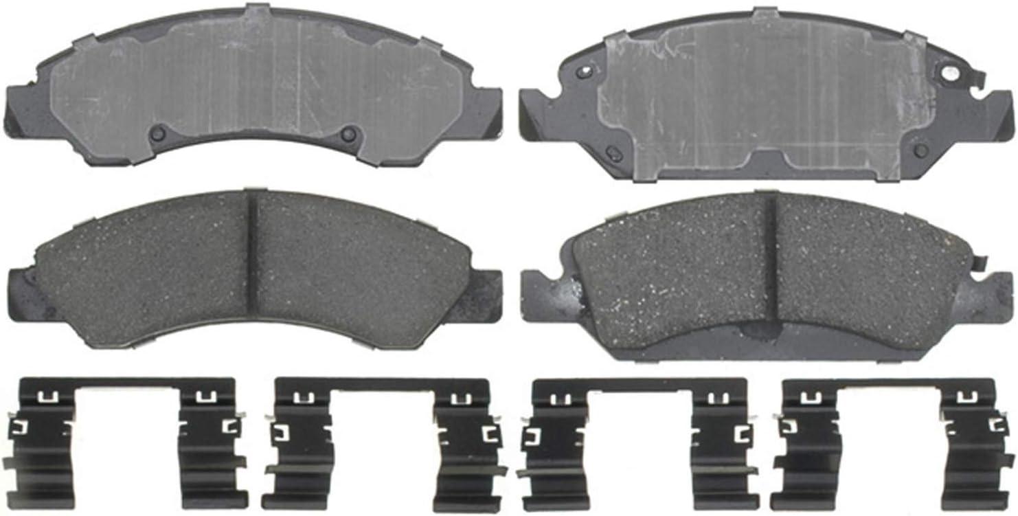 Disc Brake Pad Set-Ceramic Front ACDelco Pro Brakes 17D1058C