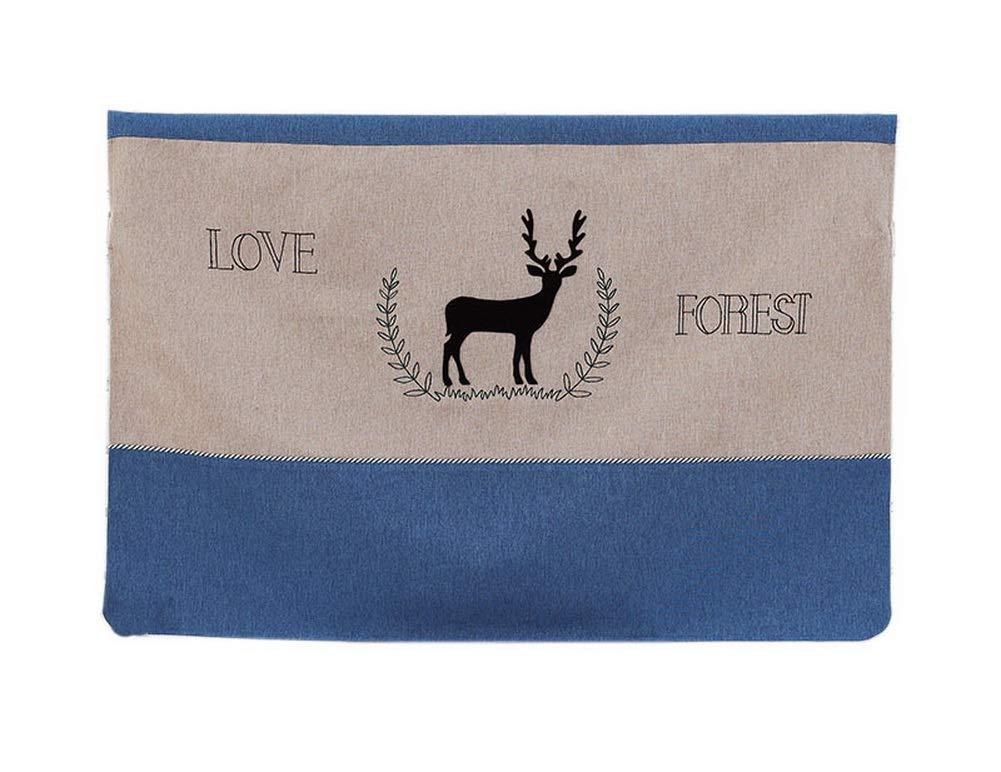 Gentle Meow Home Creative 50-Inch TV Cloth Decorative Dustproof Cover, Deer
