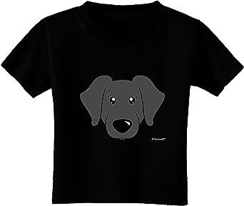 TOOLOUD Cute Black Labrador Retriever Dog Infant T-Shirt