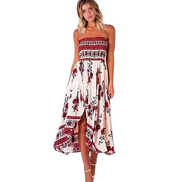 c588b68b7 Hot Sale!Women Long Dress,Canserin Women's Boho Off Shoulder Long Maxi  Evening Party