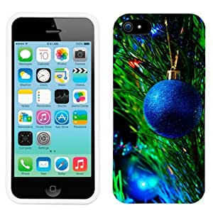 Apple iPhone 6 4.7 Christmas Blue Ornament on the Tree Phone Case Cover
