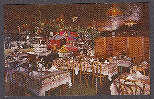 Ideal Fish Restaurant Santa Cruz Ca Postcard 1950s At