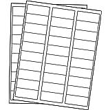 """Printholic Address Mailing Labels Sticky 3,000 Labels 1"""" X 2-5/8""""for Laser/Inkjet Printer, White(30 Labels Per A4 Sheet)"""