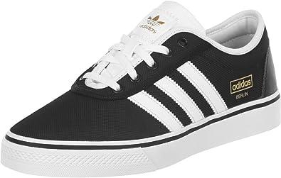 adidas Zapatillas de Ante para Hombre Negro Negro: adidas