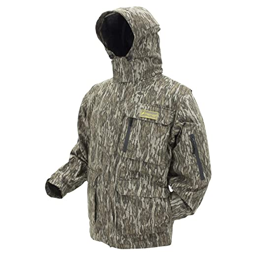 b1bf377be5c44 Amazon.com : Frogg Toggs Dead Silence Camo Rain Jacket : Clothing