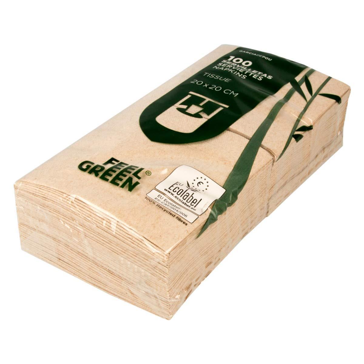 Garcia De Pou - Servilletas reciclados 2 capas 18 G/m² en caja ...