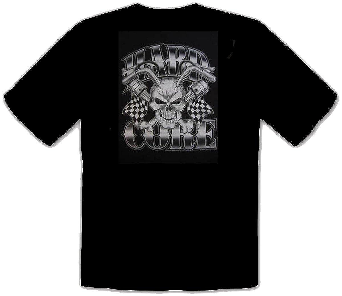 Biker T-Shirt avec Harley Davidson Moteurs dimpression 321