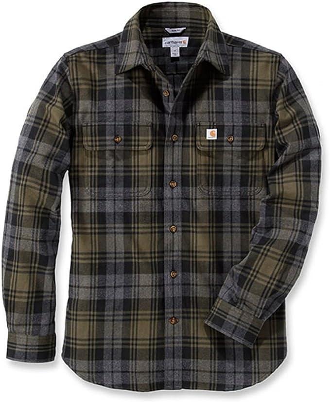 button down Casa Moda Uomo Camicia in leggera-flanella Comfort Fit
