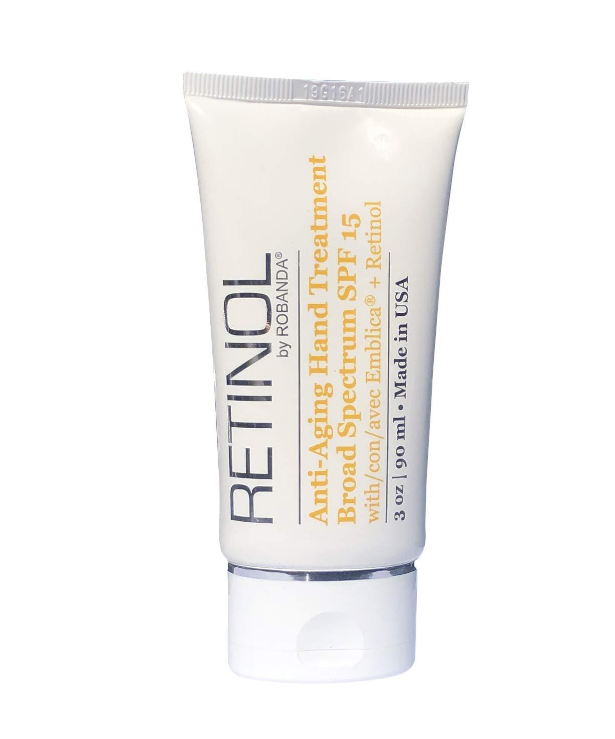 Amazon Com Retinol By Robanda Anti Aging Hand Treatment Beauty