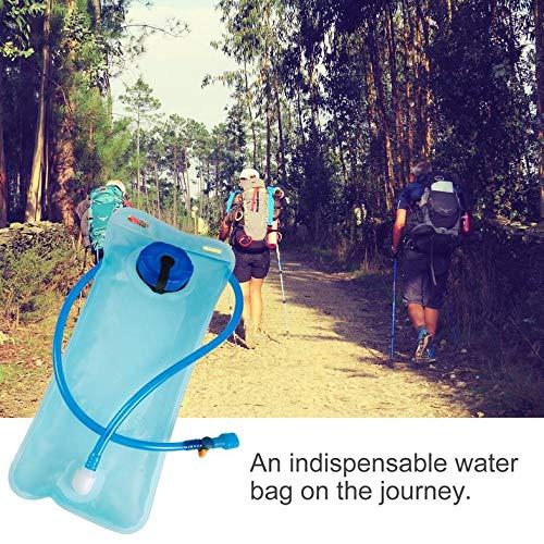 2L Portable Gr/ö/ße Fahrrad Radfahren Mund Wasser-Blase-Beutel-Hydratation Outdoor Camping Sport Wandern Wasser Tasche Blau