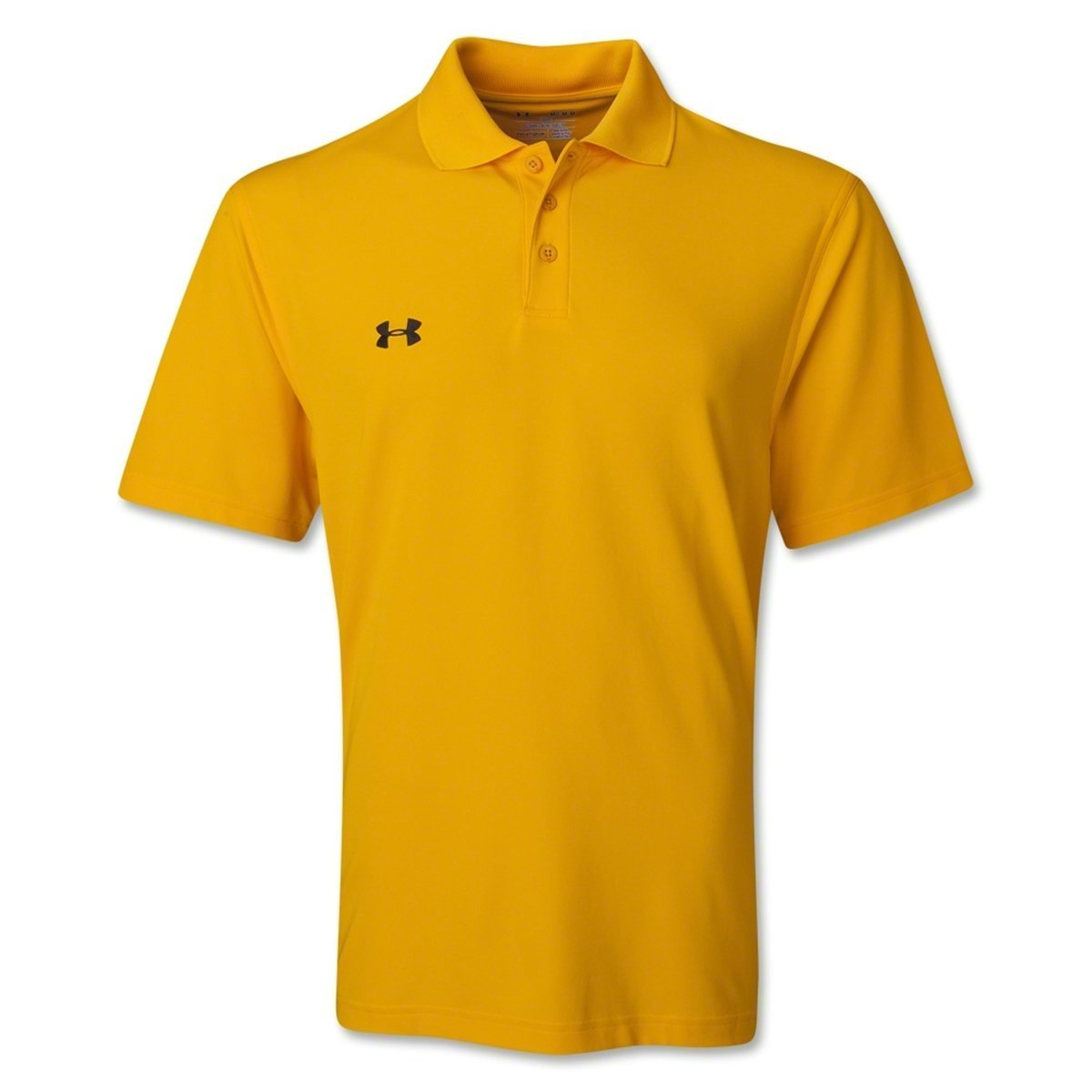 Under Armour Team Performance Polo Steeltown Gold/Black Small