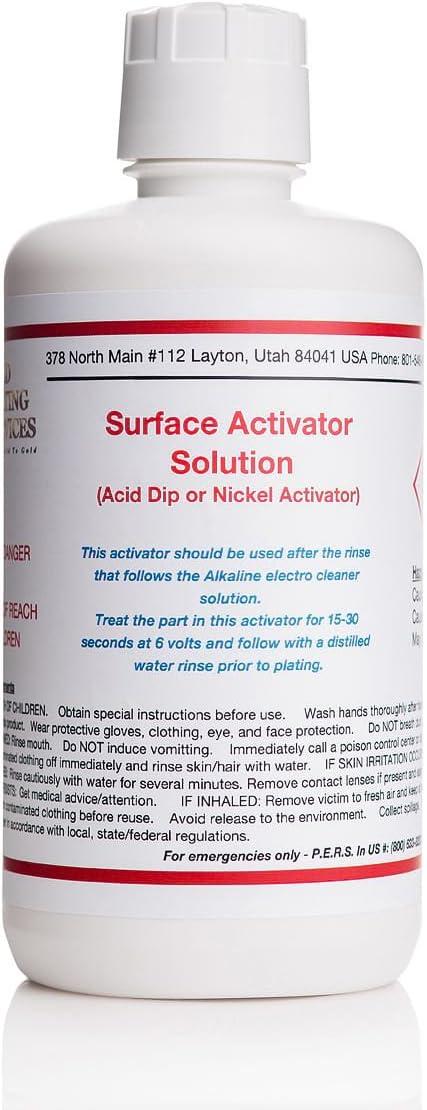 32 oz/1 Liter - Surface Activator Solution - (Nickel Activator)