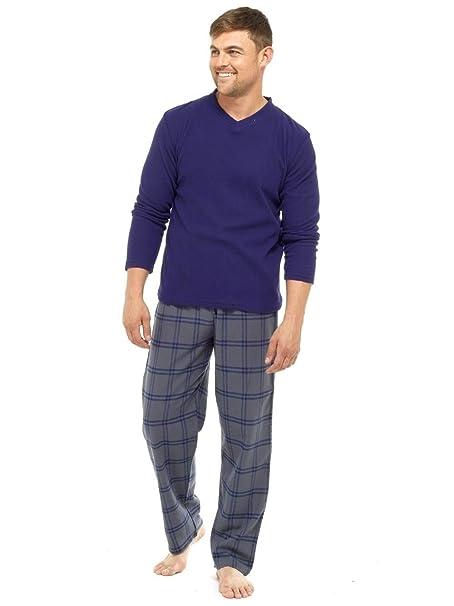 MICHAEL PAUL - Pijama - para hombre azul azul marino XX-Large