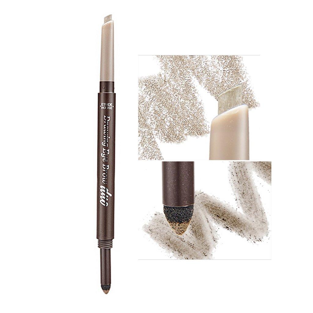 Amazon Etude House Drawing Eye Brow Duo 08g 3 Grey Brown