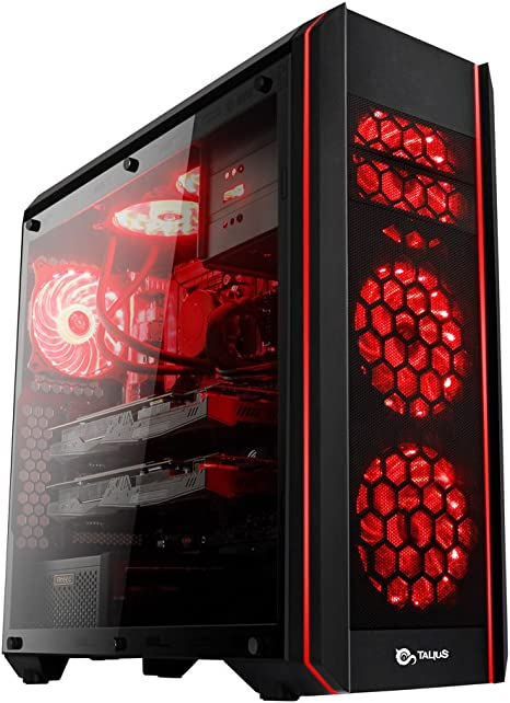 Talius Daemon - Caja Gaming ATX - Cristal Templado - 2X USB 3.0 ...