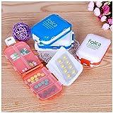 marvel pill box - Daily pill case -Pill Box Set-1pcs Pill Box Folding Vitamin Medicine Drug Container Pill Box Makeup Storage Case Container Pill Organizer Box Case - Pill Box For Purse