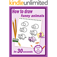 How To Draw: Funny animals in 30 seconds. Part 3