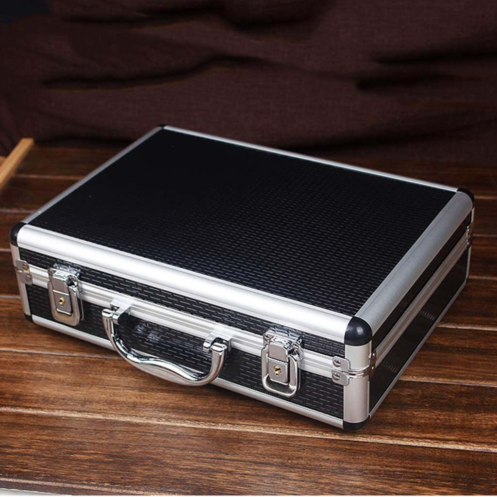 Hard Shell Case Portable Tool Case with Extra Protective Foam for Travel and Storage Valuable Objects 325x236x100mm