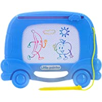WiseBox 儿童磁性画板(卡通车款)