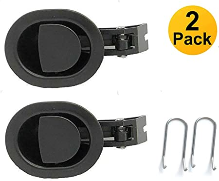 6mm Lanyarco 2 Pack Metal Replacement Parts Recliner Handle Chair Release Lever