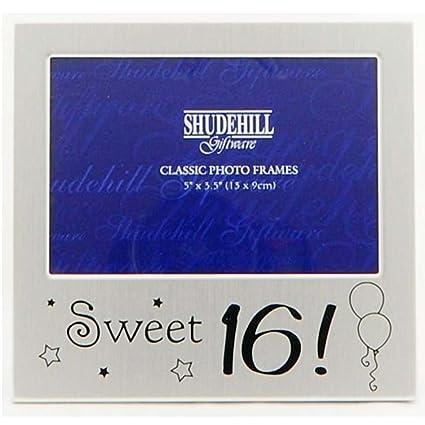 Amazon.com - Sweet Sixteen 16th Birthday Photo Frame -