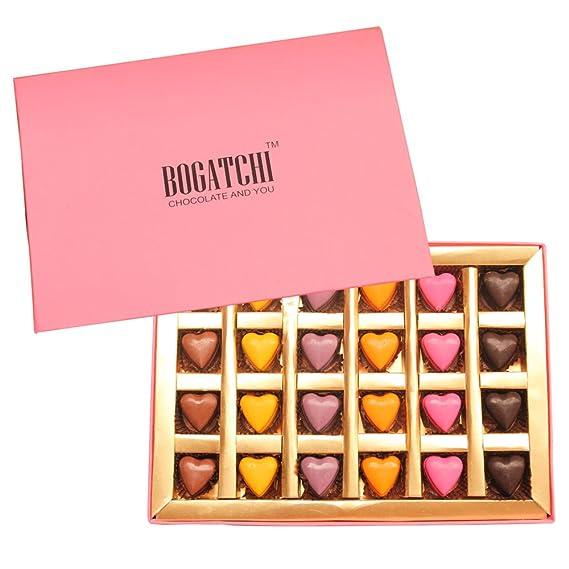 BOGATCHI HAPPY BIRTHDAY Gift For Boyfriend GIFT IDEAS Sensual Hearts 288 G Amazonin Grocery Gourmet Foods