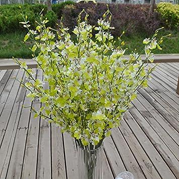 Wunderbar Auntwhale Orchidee Tanzende Dame Butterfly Künstliche Blume Künstliche  Blumen Gefälschte Blume Für Hochzeit Home Office Party