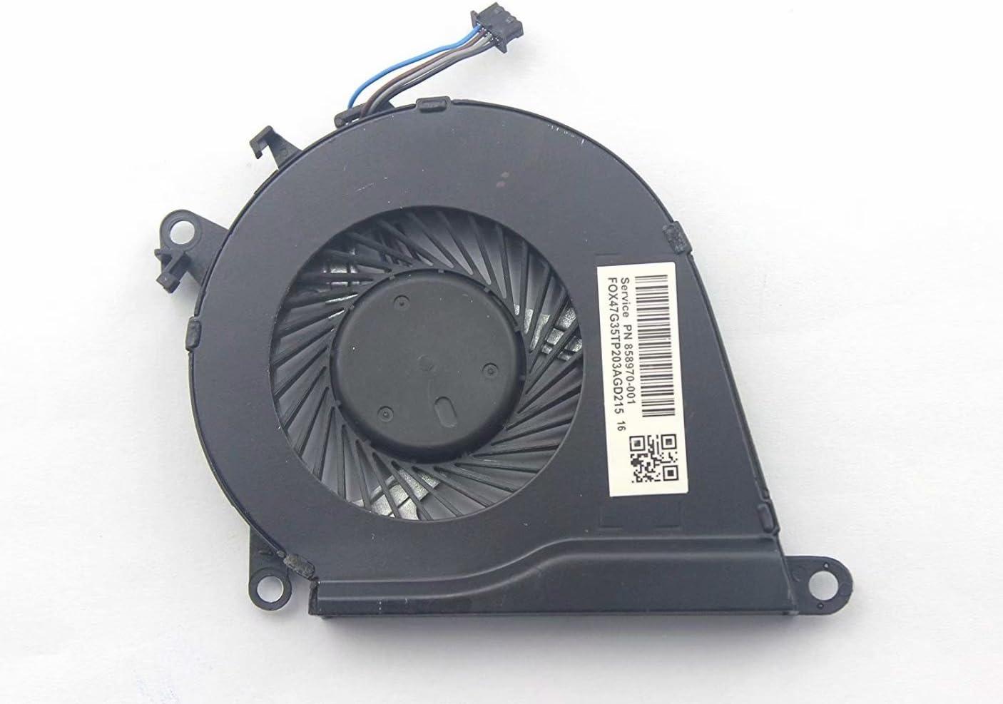 CPU Cooling Fan for HP OMEN 15-ax020ca 15-ax023dx 15-ax024tx 15-ax025tx 15-ax032tx 15-ax038tx 15-ax039nr 15-ax039tx 15-ax040tx 15-ax043dx 15-ax200nu 15-ax201la 15-ax201tx 15-ax202la 15-ax202tx