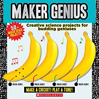 Book Cover: Maker Genius: 50  Home Science Experiments