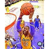 Dwight Howard Los Angeles Lakers 2012-2013 NBA Action Photo #2 8x10