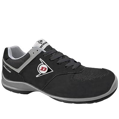 Etnies Scout Dunlop Flying Arrow GD Sicherheits-Halbschuhe S3 SRC ESD en ISO 20345 Schwarz Chaussures Columbia homme C2dBTO0Px