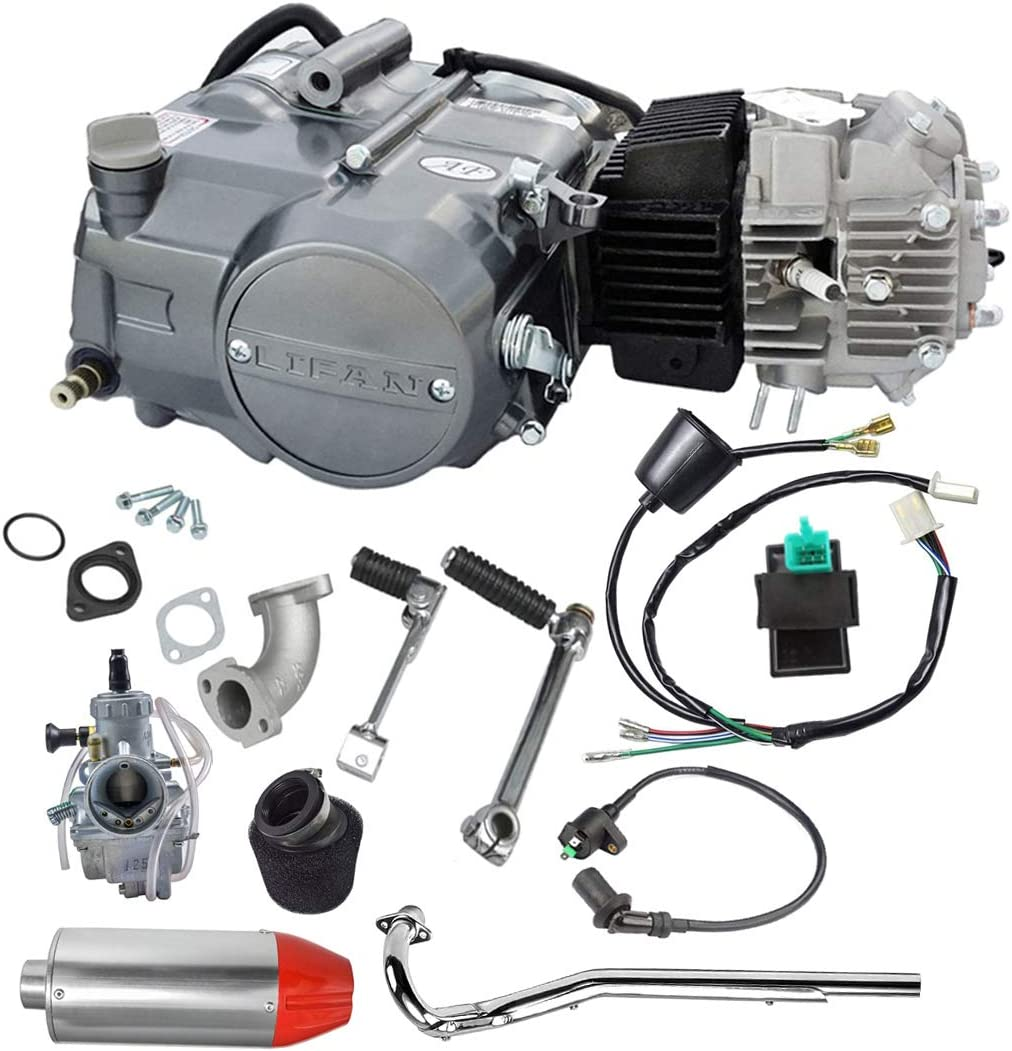 [DIAGRAM_09CH]  Amazon.com: TDPRO Lifan 125cc 4-Stroke Air-Cooled Engine Motor and  Carburetor Exhaust Muffler With Pipe Wiring Harness Kit for XR50 CRF50 XR  CRF 50 70 Dirt Pit Bike Kawasaki: Automotive | Lifan 125cc Motor Wire Harness |  | Amazon.com